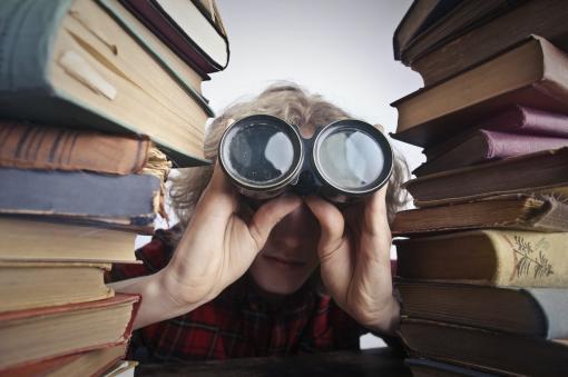 Découverte entre les livres